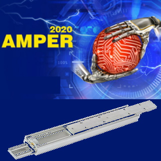 AMPER 2020 in BRNO-CZ – Telescopic slides for the 28th edition