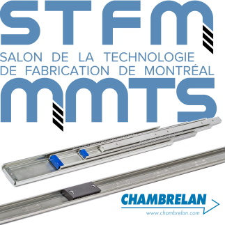 CHAMBRELAN ball bearing slides at the STFM 2020